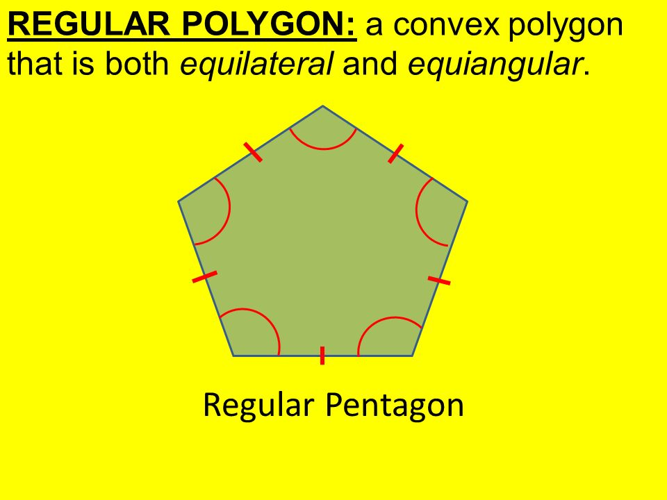 equiangular polygons essay An equiangular triangle is a triangle, whose all interior angles are equal as sum of the interior angles of a triangle is ##180^o##, each interior angle is ##60^o##, and consequently each exterior angle is ##180^o-60^o=120^o#.