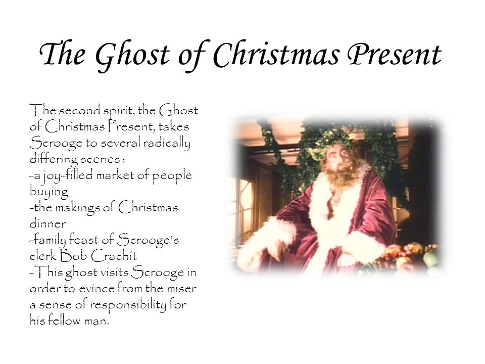 The Ghost of Christmas Present