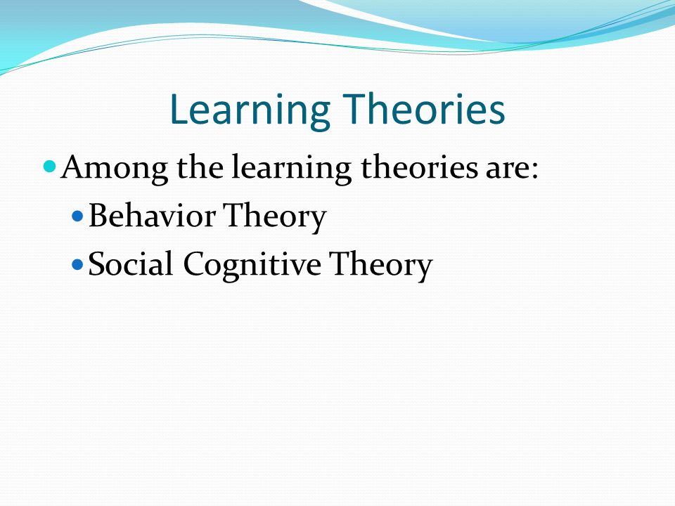 behaviourist and social learning The contents of this essay will explain different psychological approaches to  explain different psychological approaches to health  social learning.