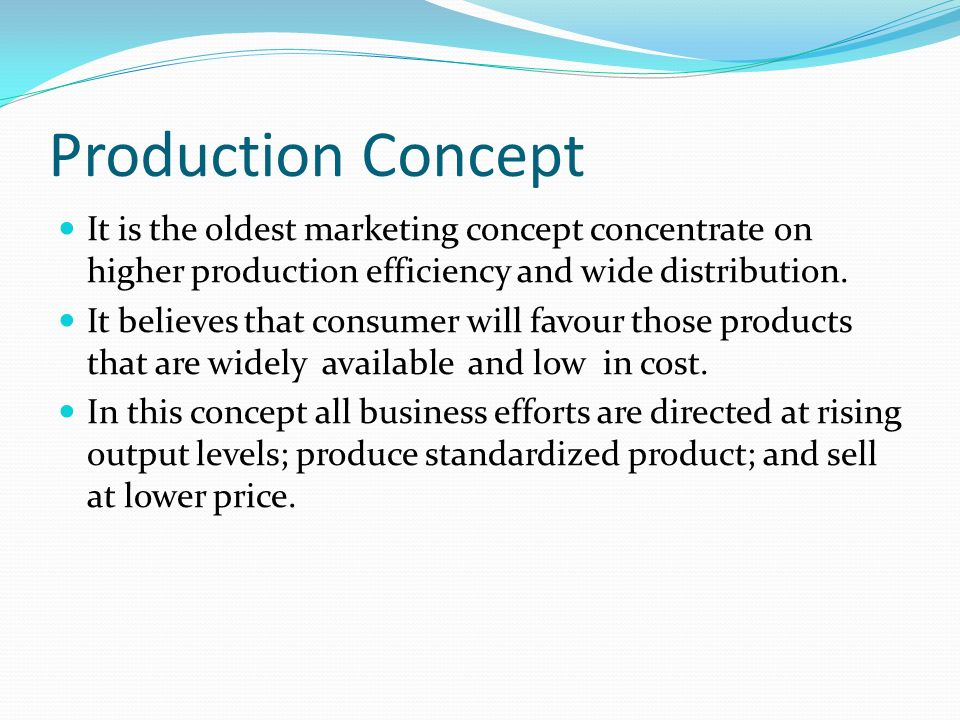 product concept marketing Start studying principles of marketing: chapter 10 product concepts learn vocabulary, terms, and more with flashcards, games, and other study tools.