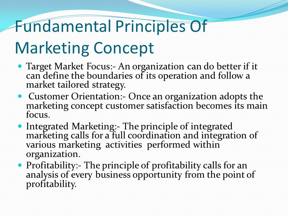 "fundamental marketing concept How the marketing concept has been defined 1960-2009 in critically  a party"" and that ""service is the fundamental basis of exchange"" (vargo & lusch, 2004."