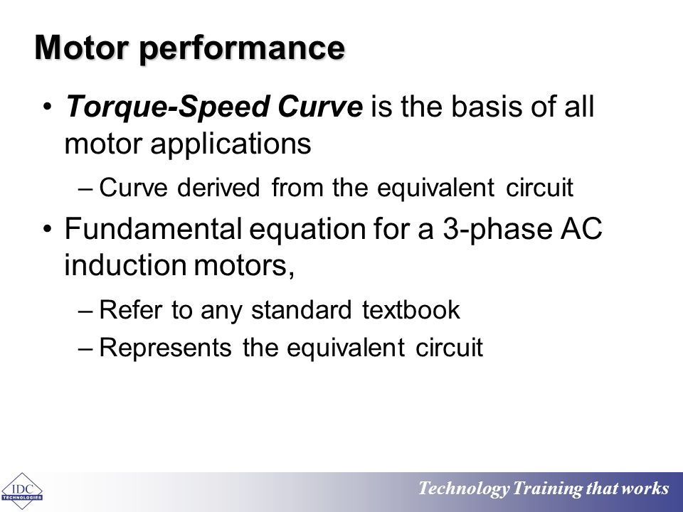 3 Phase Induction Motor Torque Equation 28 Images Ac