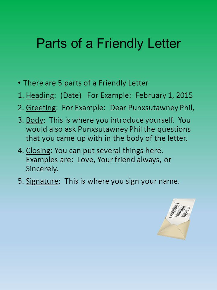 Your Friend Always Closing Letter