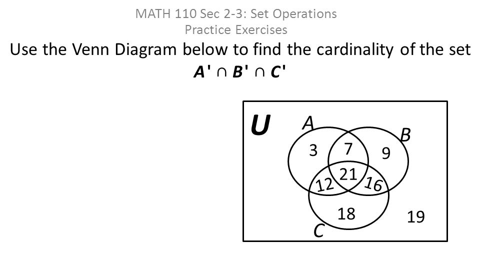 math 110 sec 2-3  set operations practice exercises