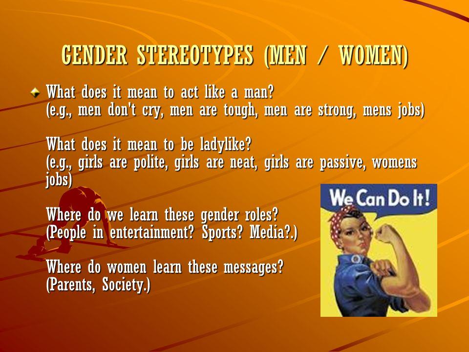 Children on Gender Roles - YouTube