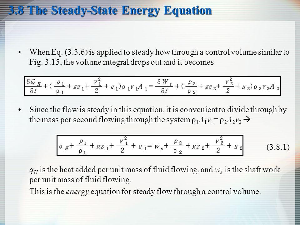 steady flow energy equation pdf