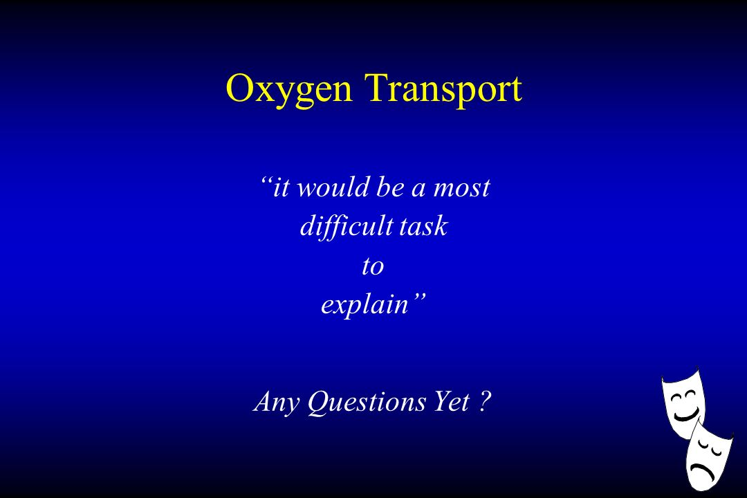 Oxygen Transport: A Clinical Review Bradley J. Phillips, M ...