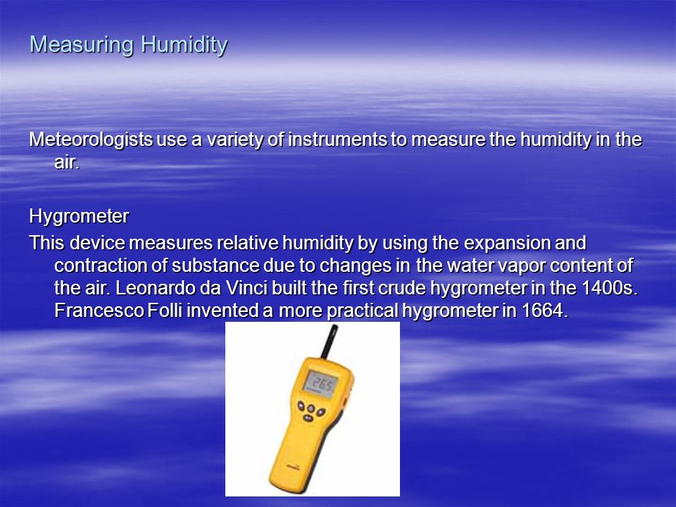 hair hygrometer science project. 11 measuring humidity meteorologists hair hygrometer science project
