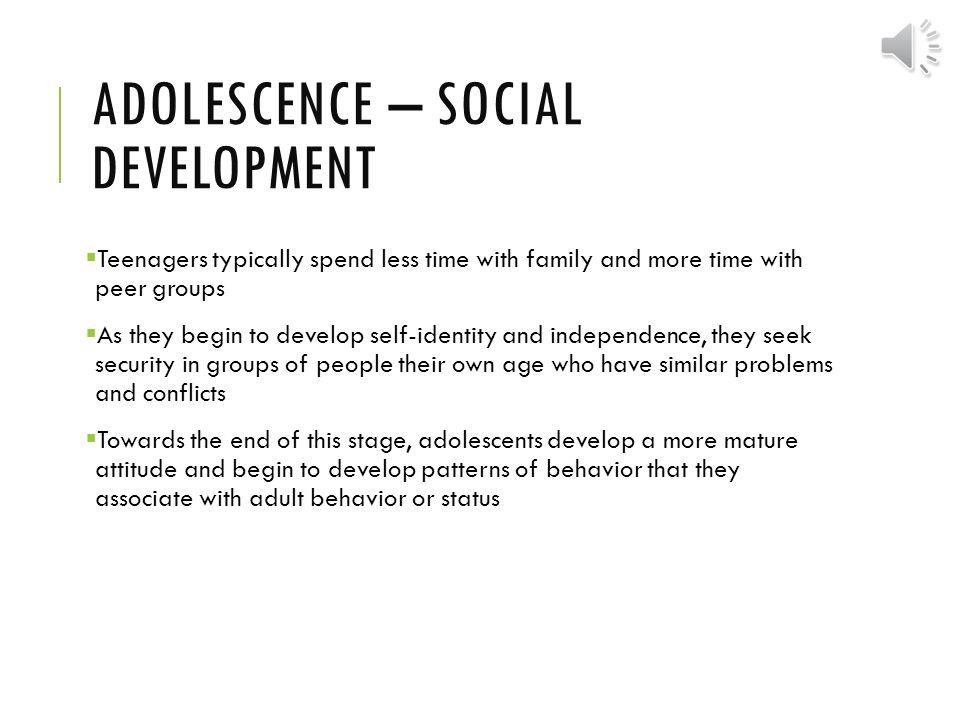 social development in adolescence pdf