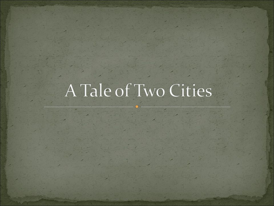 a tale of two cities resurrection Dickens and religion: the life of our — sydney carton's last words in a tale of two cities [1859] i am the resurrection and the [a tale of two cities.