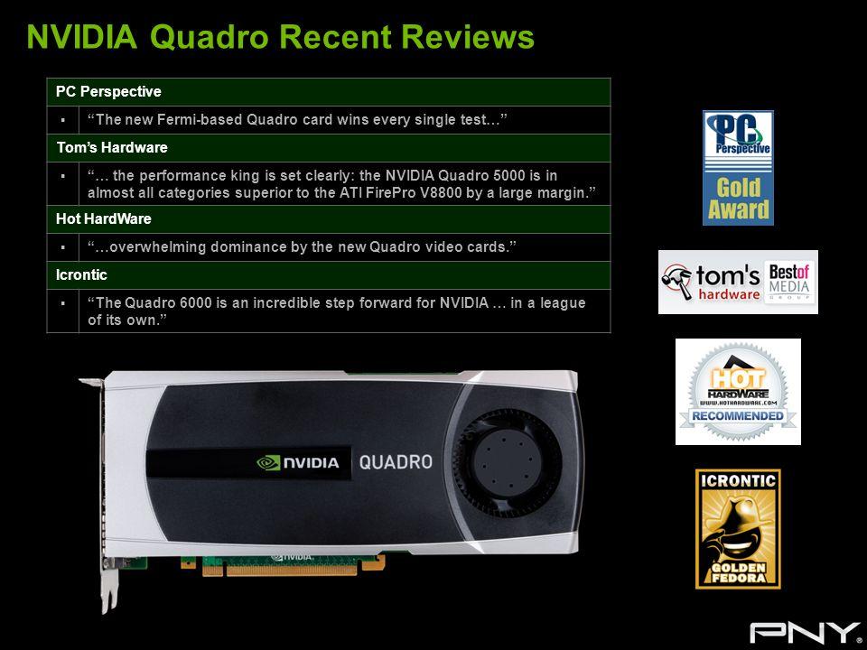 NVIDIA Quadro Recent Reviews