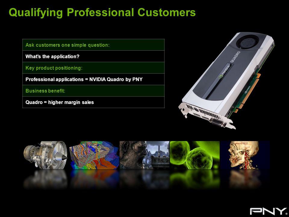 Qualifying Professional Customers