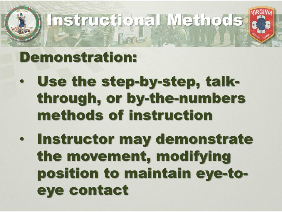 instructional methods for teaching