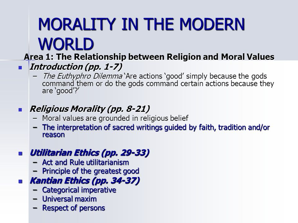 the relationship of laws to values morals and ethics Morality and religion is the relationship between religious views and morals many religions have value frameworks regarding personal behavior meant to guide adherents in determining between right and wrong.