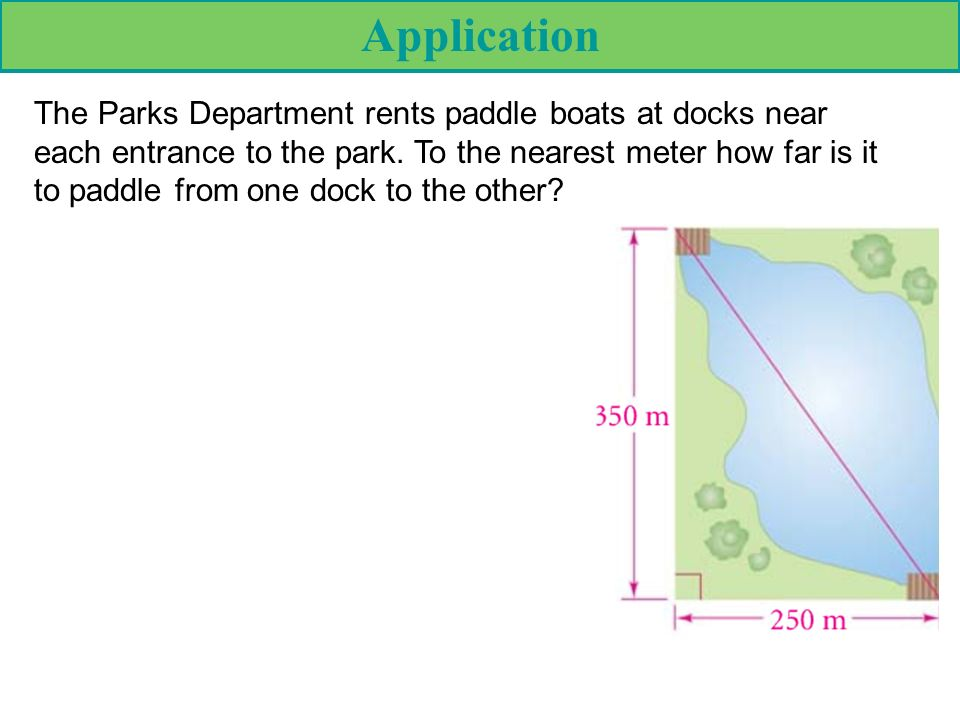 How Far Is A Meter : Pythagorean theorem in