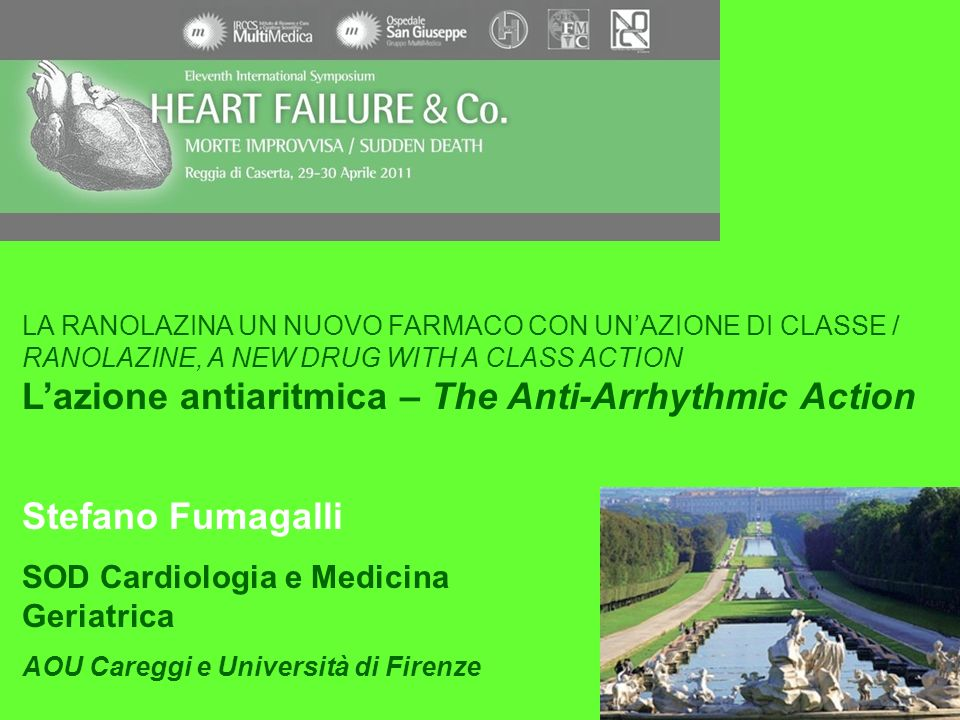 L'azione antiaritmica – The Anti-Arrhythmic Action