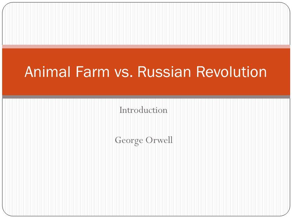 animal farm vs russian revolution