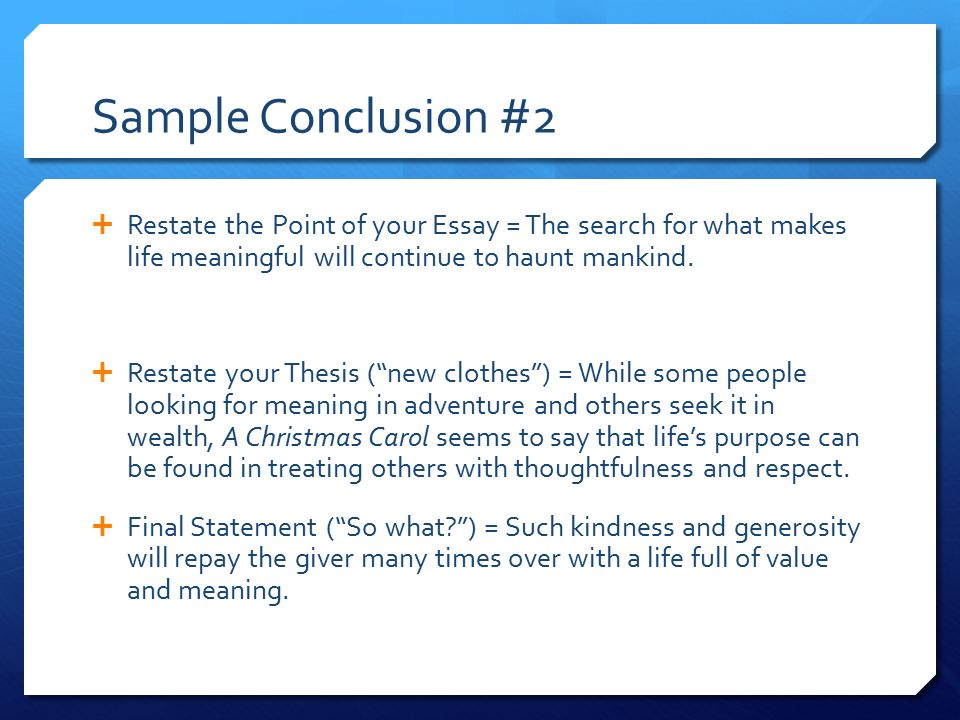 personal values essay conclusion Personal/work values the essay identifies and clarifies my personal values in my career and personal life there are various steps followed in order to reach the final list of values that may be attributed to me by others step 1 at this stage, i will identify the moments in time when i was the happiest both in personal and career life.