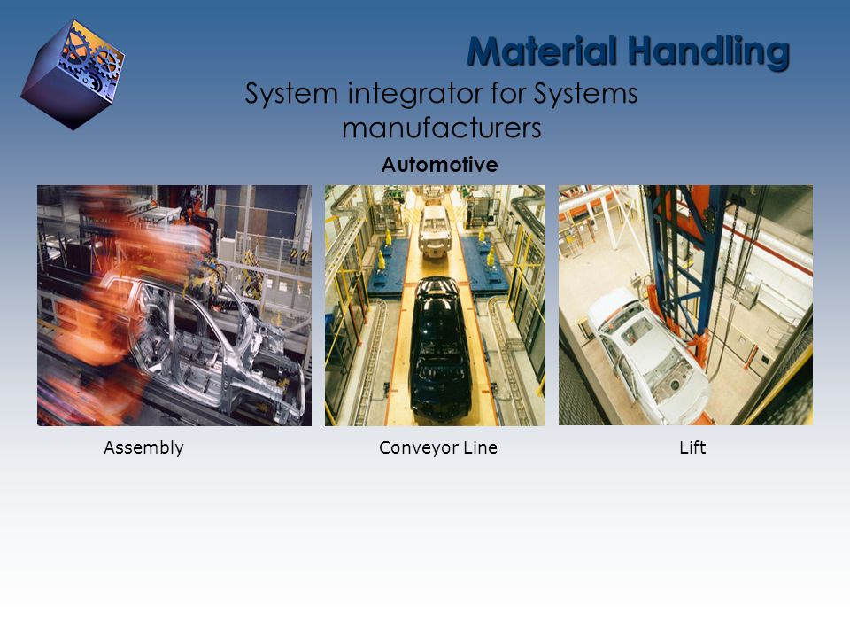 System integrator for Systems manufacturers