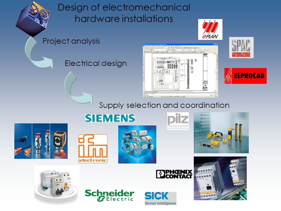 Design of electromechanical hardware installations