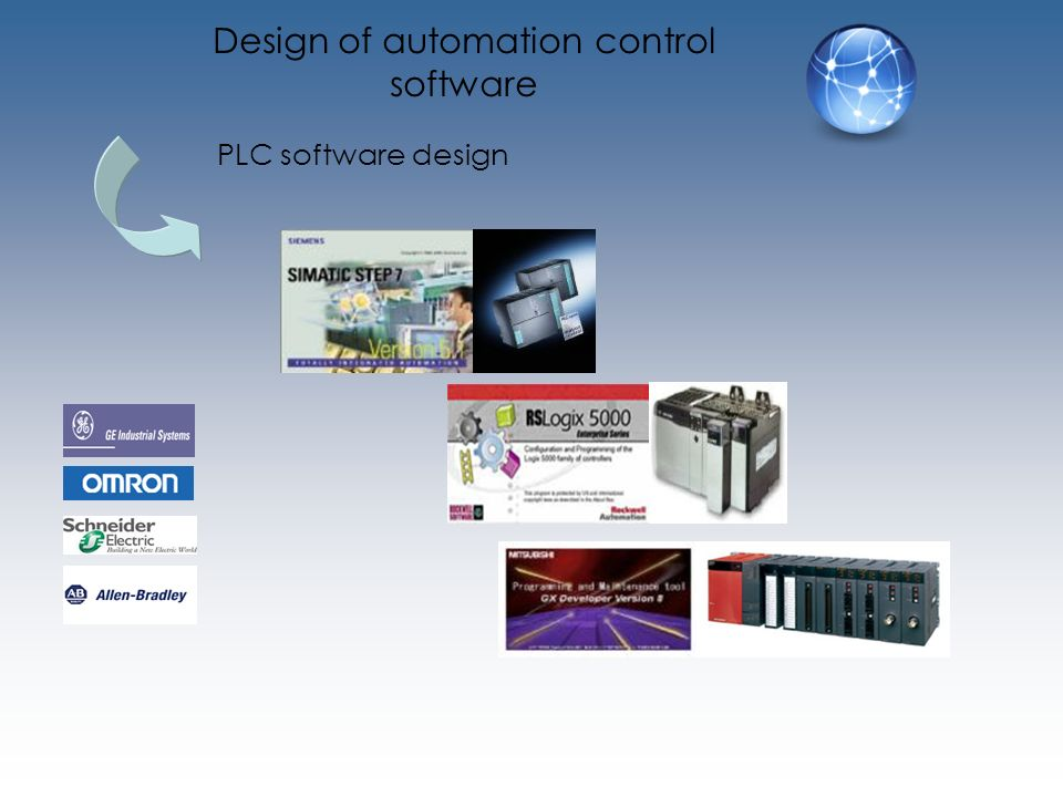 Design of automation control software