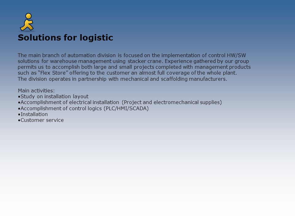 Solutions for logistic