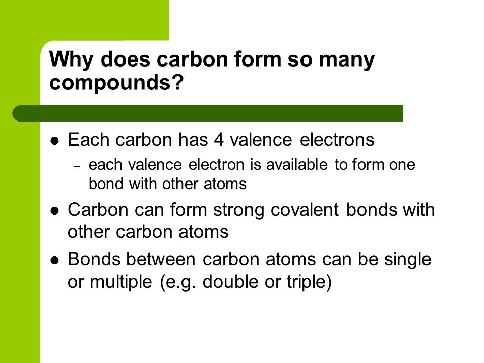 Carbon Chemistry. - ppt video online download