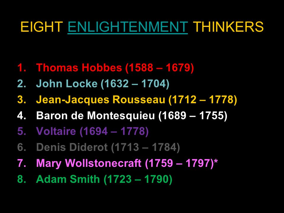 a fictional letter about meeting the enlightenment thinkers john locke thomas hobbes jean jacques ro The english philosopher thomas hobbes ushered in this new debate with his work leading educational theorists like england's john locke and switzerland's jean.