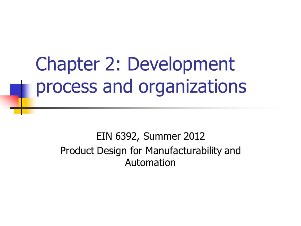 Chapter 2 Development Process And Organizations Ppt Video Online Download