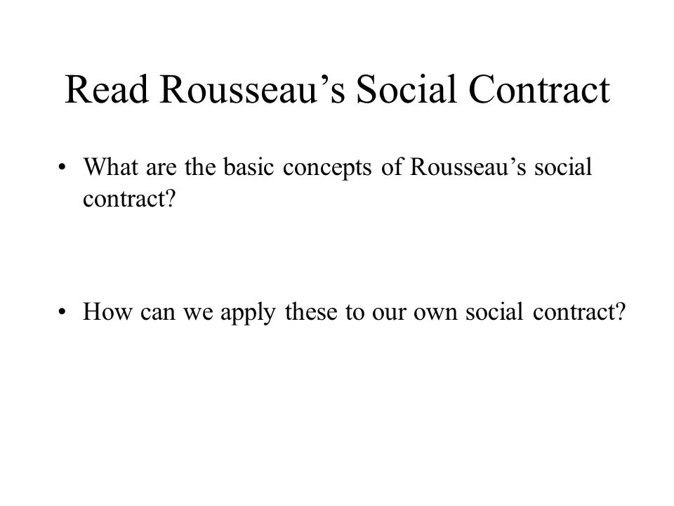 SparkNotes: The Social Contract: Book I, Chapters 1-5