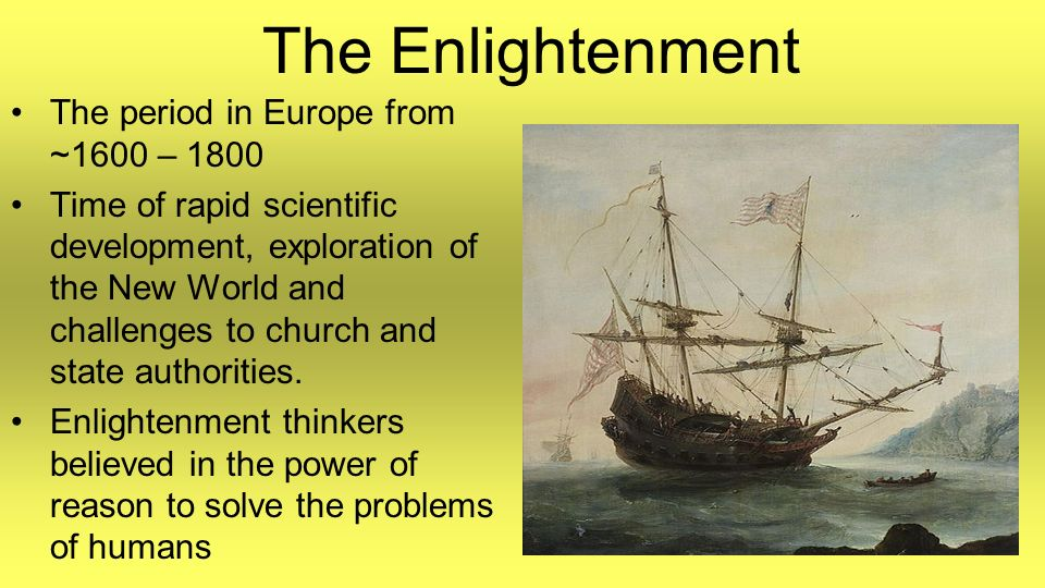 the loss of churchs power in the era of enlightenment Enlightenment philosophers were generally opposed to the catholic church and organized religion in general especially in france, the center of the european enlightenment, the catholic church was seen as an oppressor -- along with the aristocracy -- of individual freedom and reason because of.