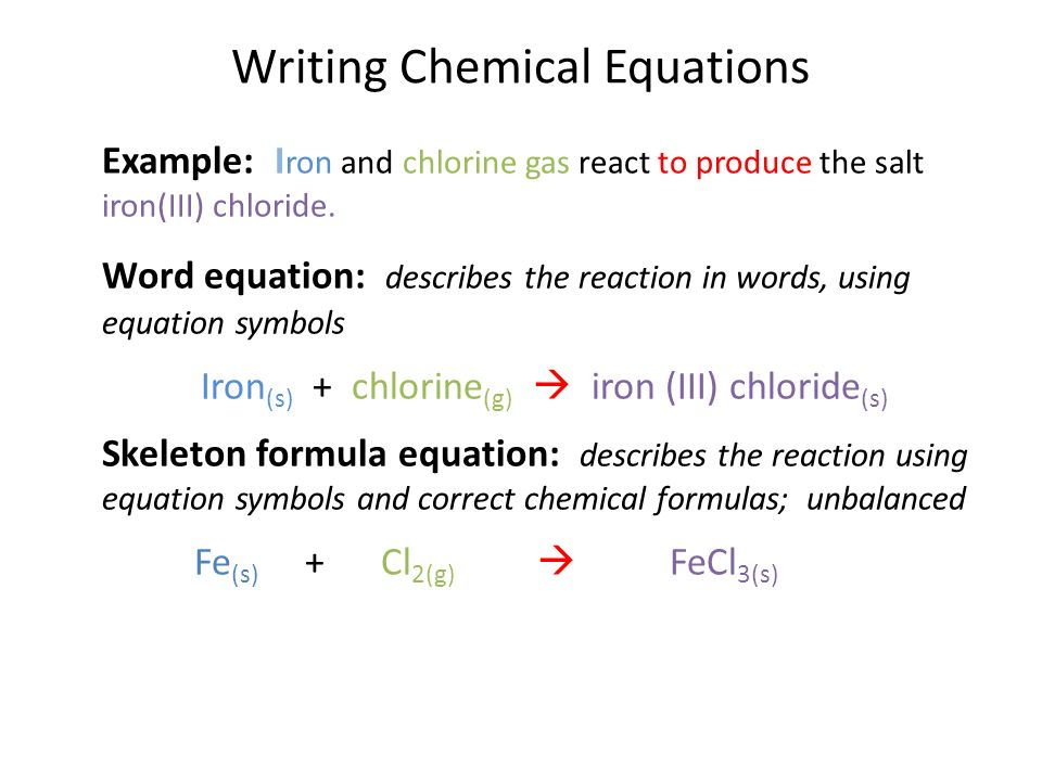 What Is the Chemical Equation for the Rusting of Iron?