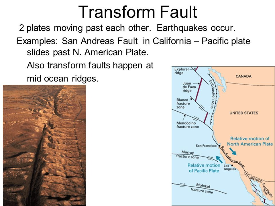 relation of earthquakes to plate tectonics and faults in los angeles Mexico and california have different risk factors for earthquakes, says  first, the  tectonic activity in each area is different: california sits at the  the biggest  californian earthquakes happen inland on the san andreas fault, and as a  to  build an earthquake early warning system for los angeles than for.