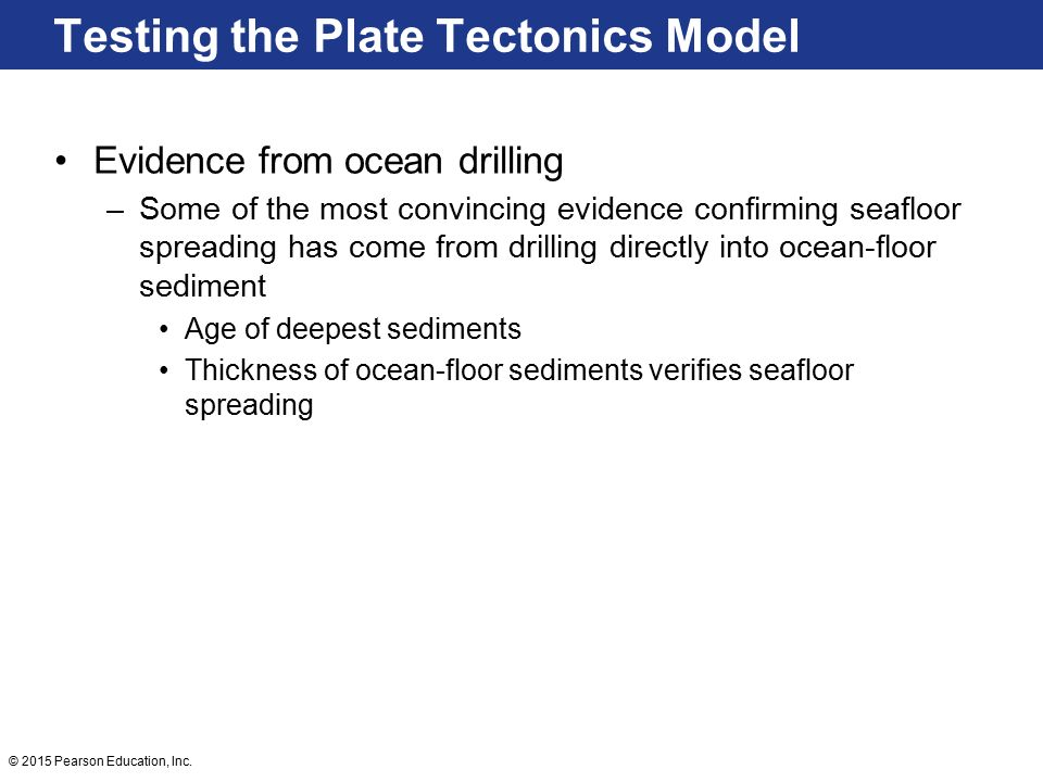 Continental drift an idea before its time ppt video for Evidence for sea floor spreading has come from