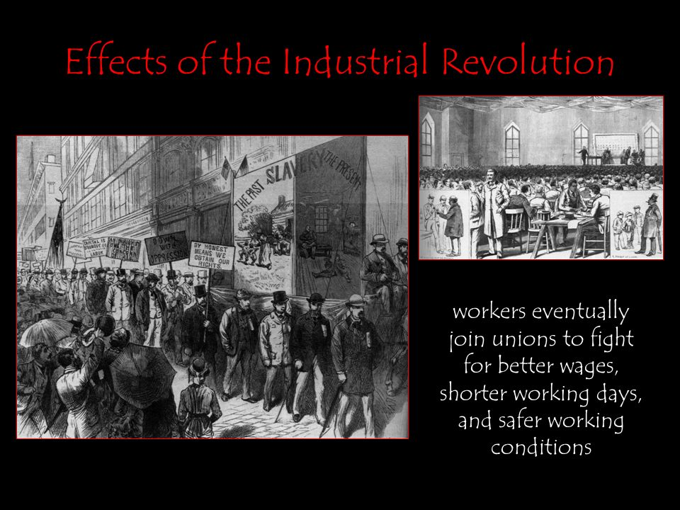 the effects of the industrial revolution on the world One of the main effects of the fourth industrial revolution is increased human   to the world economic forum technology tipping points and societal impact.