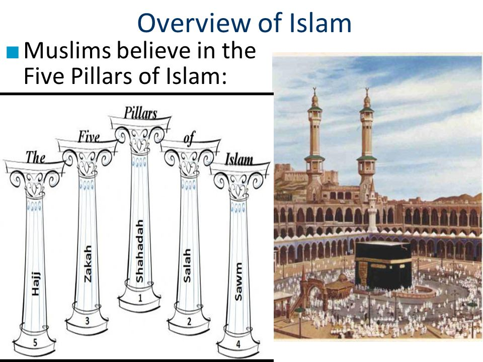 an overview of islam and the five pillars of islamic faith Test your knowledge on the five pillars of islam, a set of five concise rules that are the foundation of islamic faith, with this printable.