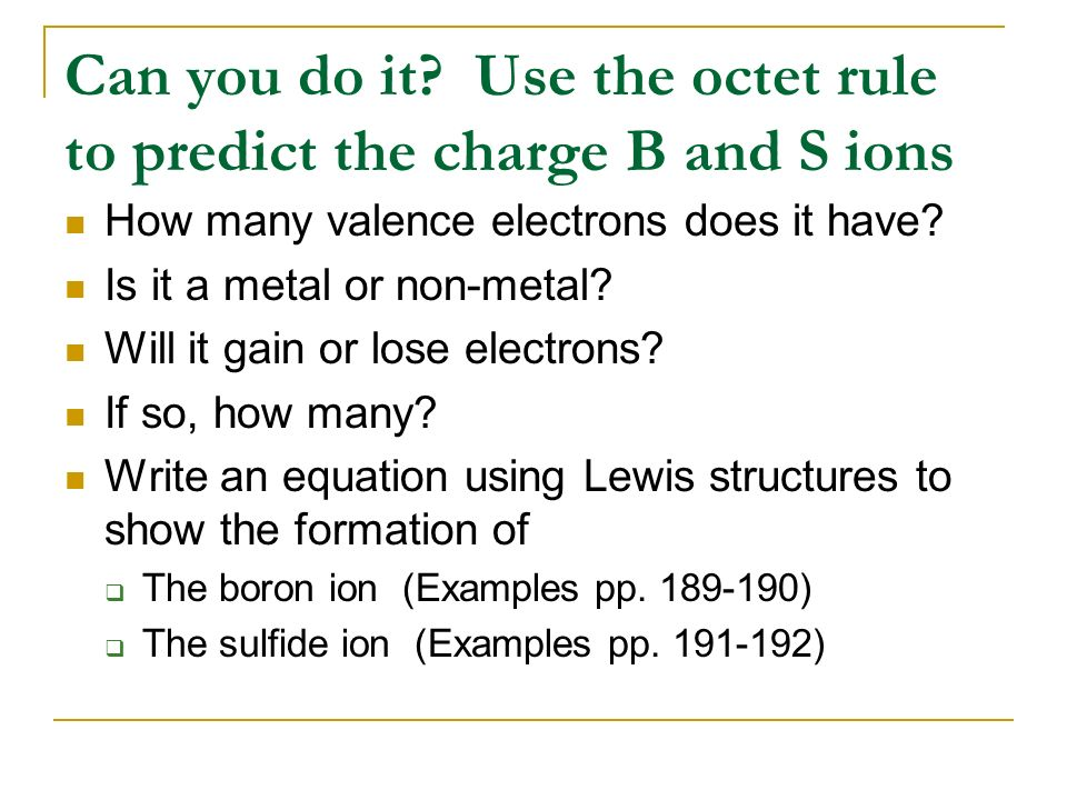 14: Writing Lewis Structures