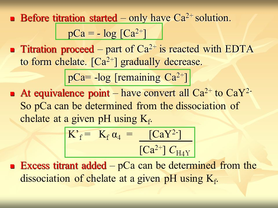 ERT207 Analytical Chemistry Complexometric Titration - ppt video ...