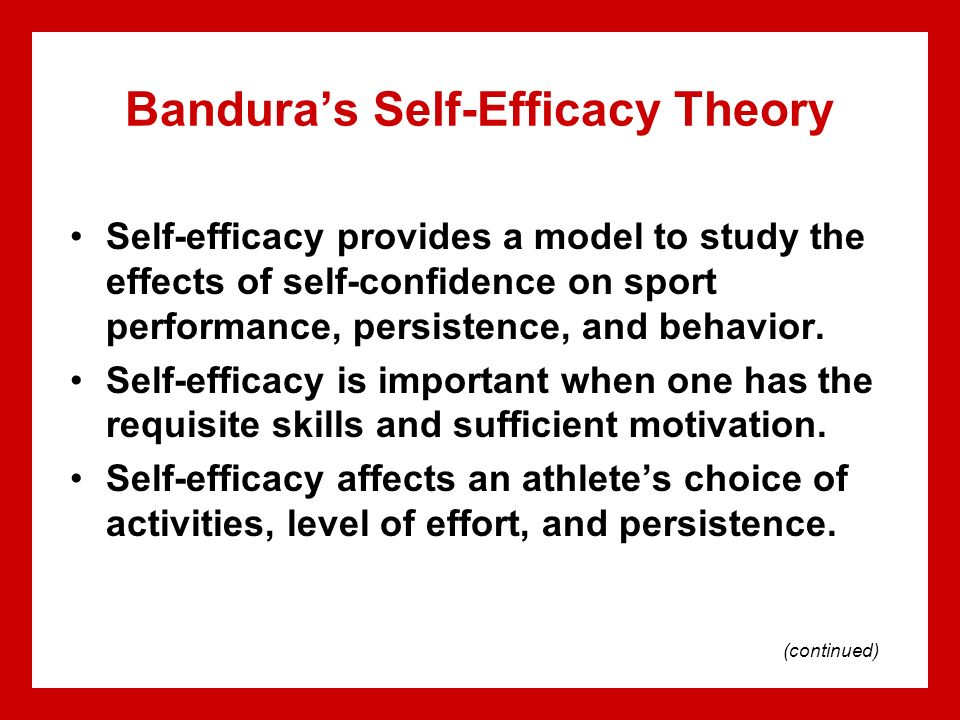self confidence and sports performance Confidence is also a mental area that is ripe for change and i will not only be offering you insights into how confidence impacts your sports performance, but also many practical tools for developing confidence psychology today find a therapist find a therapist.