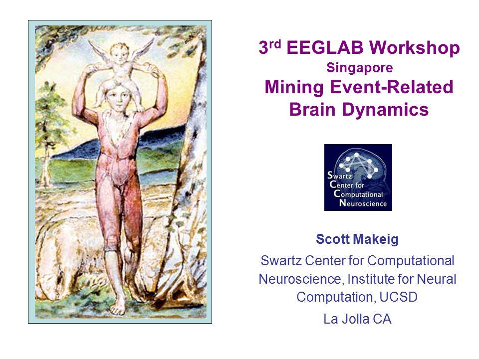 3rd EEGLAB Workshop Singapore Mining Event-Related Brain Dynamics