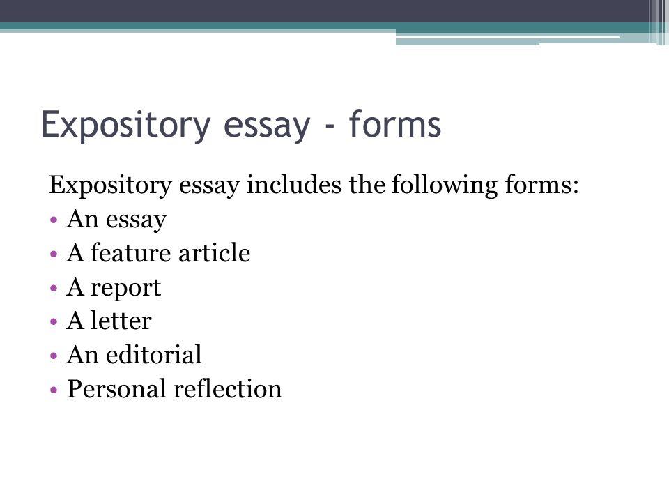 language features of essay