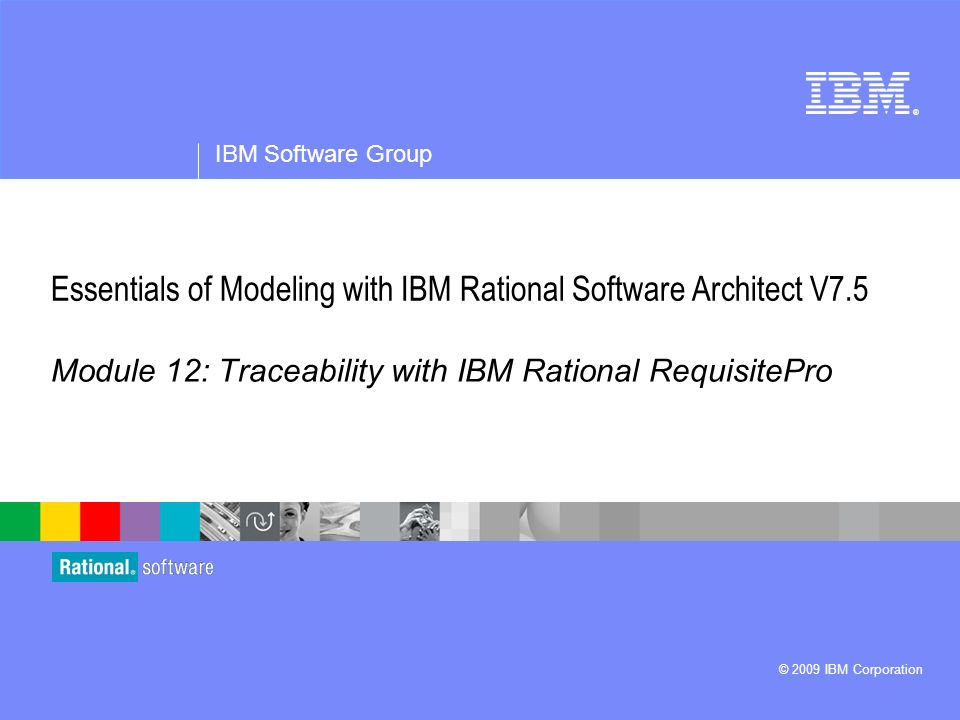 Using the new features of uml modeler in ibm rational software.