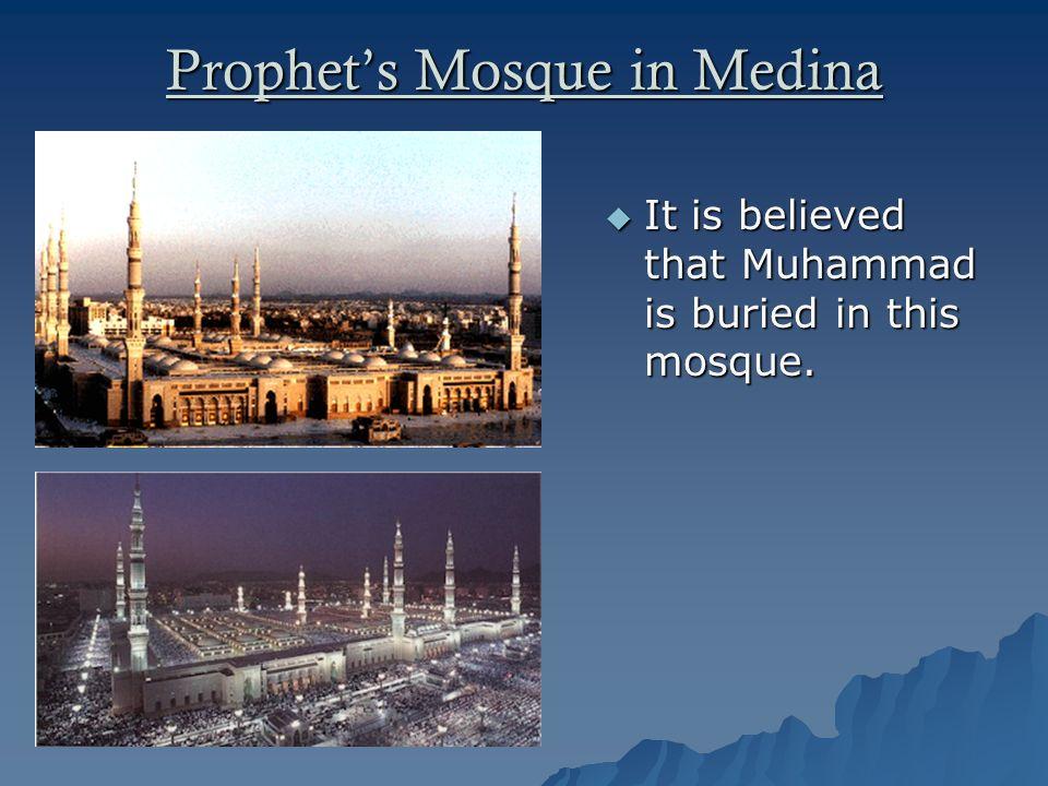 Prophet's Mosque in Medina