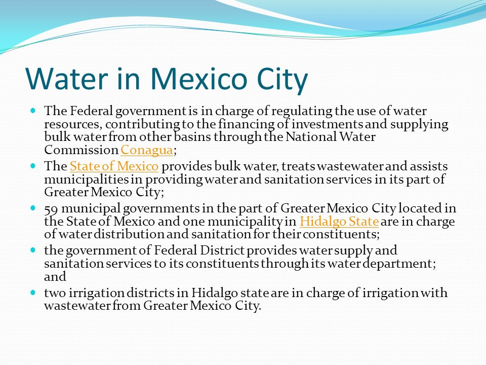 the issue of deficiency of clean drinking water in mexico Boiling is the most reliable method to make water safe to drink  portable water  filters are not recommended due to lack of independently.