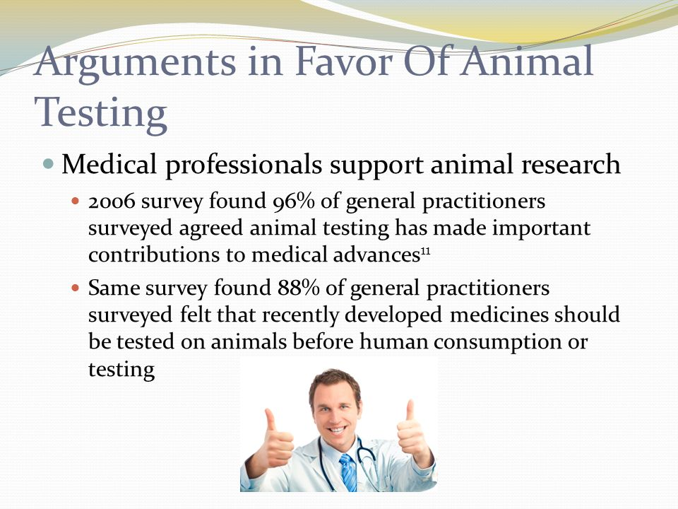 Essays on animal testing for medical research