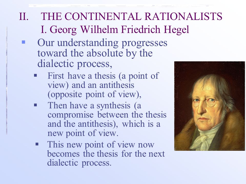 georg wilhelm friedrich hegel thesis antithesis Georg wilhelm friedrich hegel, hugh barr nisbet, duncan forbes limited preview - 1975 lectures on the philosophy of world history georg wilhelm friedrich hegel , hugh barr nisbet , duncan forbes limited preview - 1975.