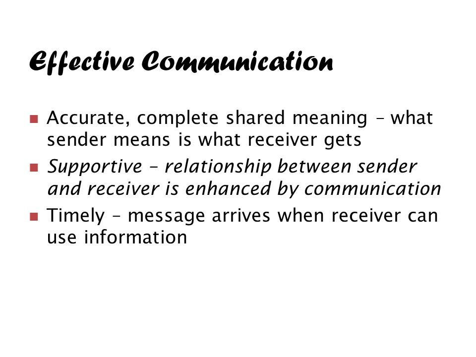 how effective communication can affect relationship