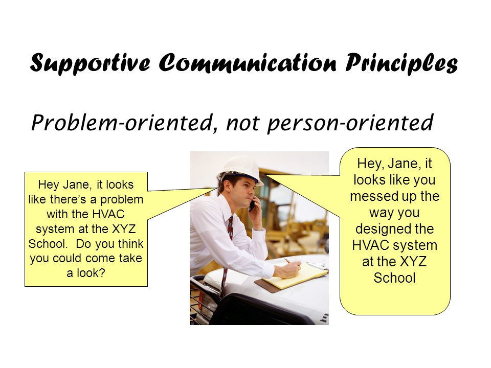 what principles of supportive communication and The study of supportive communication revolves around verbal and  principle  that person-centered theory is best studied in response to negative emo- tions.