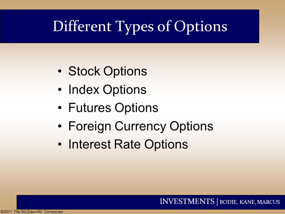 List of stock index options