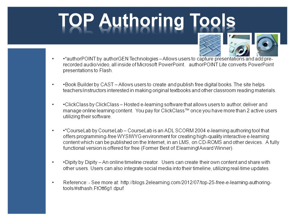 7 TOP Authoring ...